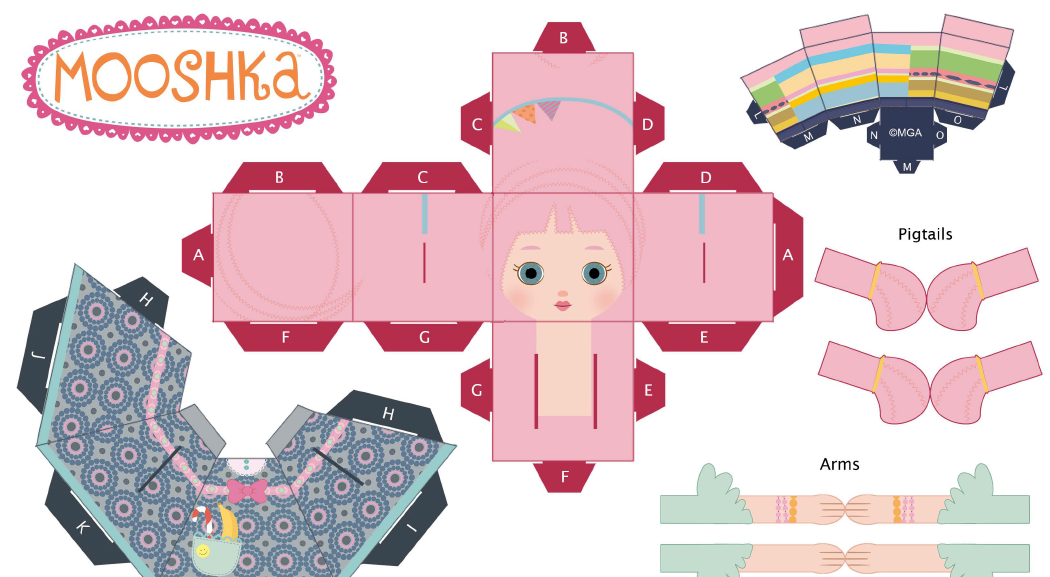 Buy Mooshka Tots Doll - Karia Online at Low Prices in India ... | 577x1050